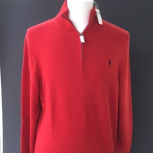 Polo by Ralph Lauren Mock sweater. XL  NWT!!